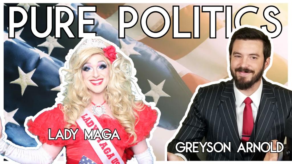 Pure Politics Interviews Lady MAGA